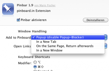 """In the settings you find """"popup"""" now."""