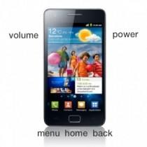Samsung Galaxy SII buttons