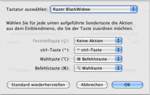 Remap modifier keys