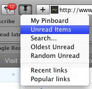 Toolbar menu 2